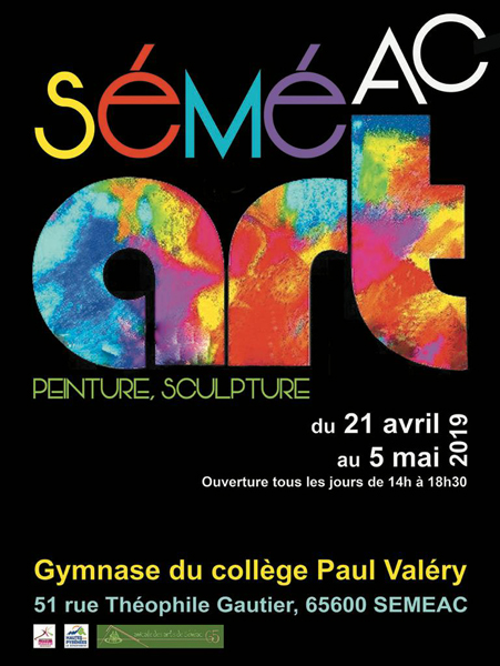 SALON D'ART à SEMEAC !